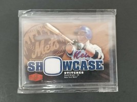 2006 Fleer Showcase Stitches #SS-WR David Wright New York Mets Baseball ... - $14.01