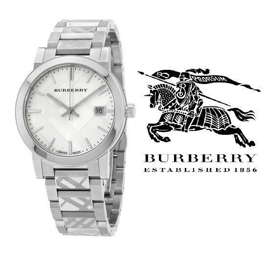 fae9f8384c0a 57. 57. Previous. Burberry Watch BU9037 Swiss Trademark Unisex Stainless  Steel Bracelet 38mm Dial