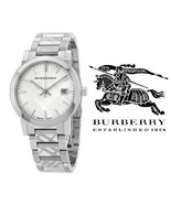 Burberry Watch BU9037 Swiss Trademark Unisex Stainless Steel Bracelet 38... - $219.00