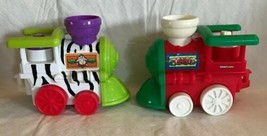 Fisher Price Little People Zoo Zebra Christmas Train Replacement Musical Engine - $19.79