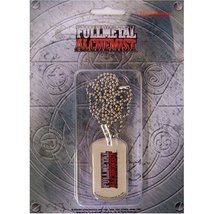 FullMetal Alchemist Dog Tag FMA Logo Necklace GE7711 *NEW* - $13.99