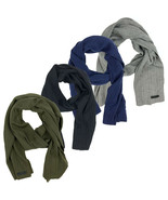 Timberland Men's Essential Ribbed Lightweight Winter Scarf A1EUO - $29.99