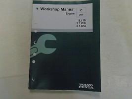Volvo Werkstatt Manuell Motor C2 (0) 8.1Gi / Gxi / Osi VPA7748089 Boot 2... - $35.58