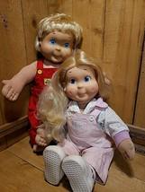 Vintage 1986 Hasbro Playskool My Buddy & Kid Sister Dolls Original Clothes - $98.20