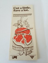 Cut A Little Save A Lot by California Beef Council - $7.27