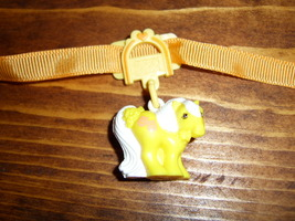 My Little Pony G1 Mommy Charm Curtail Call with clip and ribbon - $25.00