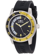 """NWT Invicta Men's 12845 """"Specialty"""" Black Band Stainless Steel Watch - $74.20"""