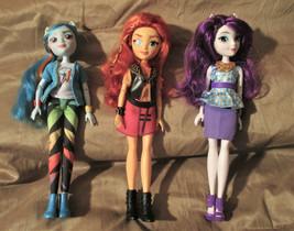 "My Little Pony "" Dolls Rarity"" & ""Rainbow Dash"" Very Nice Condition 3 Dolls - $22.95"