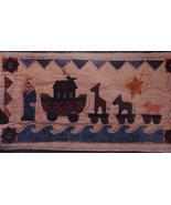 "Pattern 2011 ""Noah's Rolling Ark"" Wall Hanging 11""x 20.5"" - $5.69"