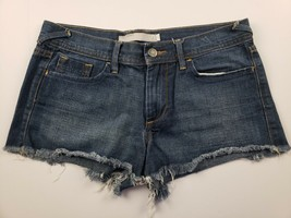 Old Navy Womens Jean Shorts Sz 4 Mini Short Booty Mid Rise Denim Cut Offs ** - $13.45