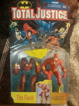 Kenner DC action figure, Total Justice Series, The Flash - $40.00