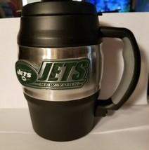 NFL New York Jets Heavy Duty Insulated Mug / Mini Keg / Coffee Mug - $29.39