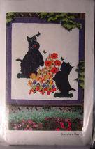 """Pattern Scottie & Flowers """"Garden Party"""" Wall Hanging 40.5""""  x 44.5"""" - $4.99"""