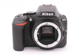 Nikon D D5500 24.2 MP Digital SLR Camera - Black (Body Only) - $549.99
