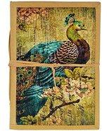 Craft Play Handicraft Peacock Print Journal Diary (15 Cm x 1.5 Cm x 20.5... - $25.48
