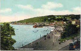 Rothesay Scotland  vintage Post Card - $6.00