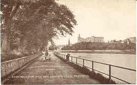 The River Ness Inverness Scotland vintage Post Card - $6.00