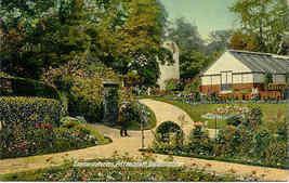 Conservatory Pittencrieff Dunfermline vintage Post Card - $6.00