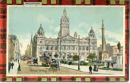 Municipal Buildings Glasgow vintage Post Card - $7.00