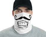 Mustache Face Mask Neck Gaiter Face Scarf Bandanna Washable Headband Face Cover - €18,20 EUR