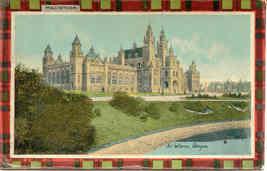 Macintosh Clan Plaid Glasgow vintage Post Card - $7.00