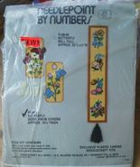 Butterfly Needlepoint by Numbers set 2 Door Knob Covers yarn plastic Can... - $14.99