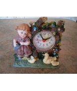 Little Girl Quartz Clock  - $10.50