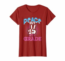 Dad Shirts - Funny Peace Out 6th Grade Shirt First Last Day of School Wowen - $19.95+