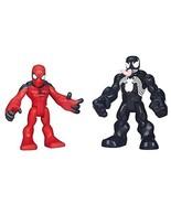 Playskool Heroes Marvel Super Hero Adventures Scarlet Spider-Man and Ven... - $98.99