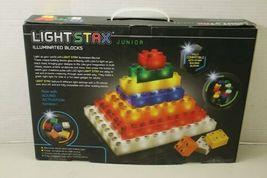Light Stax Junior Classic Illuminated Blocks Mega Set, 102 Pieces Building Block image 3