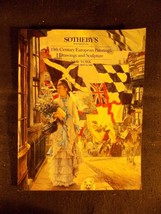 19th Century European Paintings Drawings and Sculpture/Sotheby's Auction... - $9.49