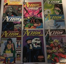 Action Comic #630 - 637 Superman DC Comic Book Lot VF Condition 1988 Pha... - $9.89