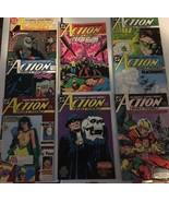 Action Comic #630 - 637 Superman DC Comic Book Lot VF Condition 1988 Pha... - $9.89