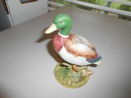 1996 Andrea by Sadek Mallard Duck by Andrea Figurine 9630 - $15.84