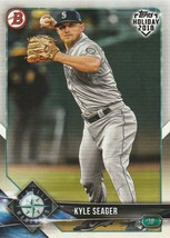 2018 Topps Bowman Holiday #THKS Kyle Seager  - $0.50