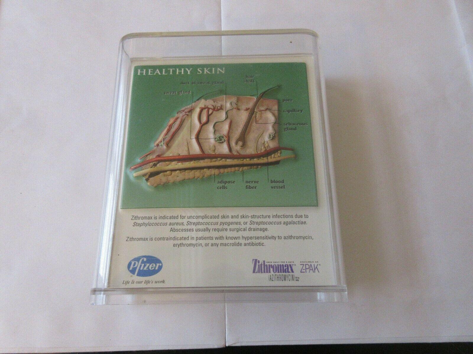 Healthy Skin/Cellulitis & Folliculitis Pharmacy Display , Pfizer, Zithromax , Rx image 2