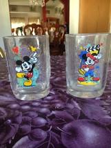 Walt Disney World Millennium McDonald's Collectible Glasses Set of 2 Brand New - $19.99