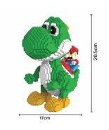 Magic Blocks Big size Yoshi Mini Blocks Mario Micro blocks Anime DIY Bui... - $34.95