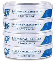 Diaper Genie Refill Bags for Munchkin Playtex Diaper Geine,1080 Count-4PACK - $12.99