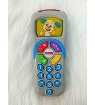 Baby Smart Remote Control Interactive Laugh & Learn Fisher Price Puppy T... - $119,31 MXN