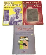 The Best of Jim Croce Guitar Edition Hank Williams Favorite Songs Eddy A... - $18.69