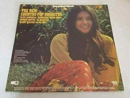 Glen Campbell Bobbie Gentry The New Country-Pop Favorites RECORD ALBUM C... - $7.87