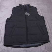 WEATHERPROOF MENS Full Zipped VEST Size  2X Black NWT NEW - $61.93