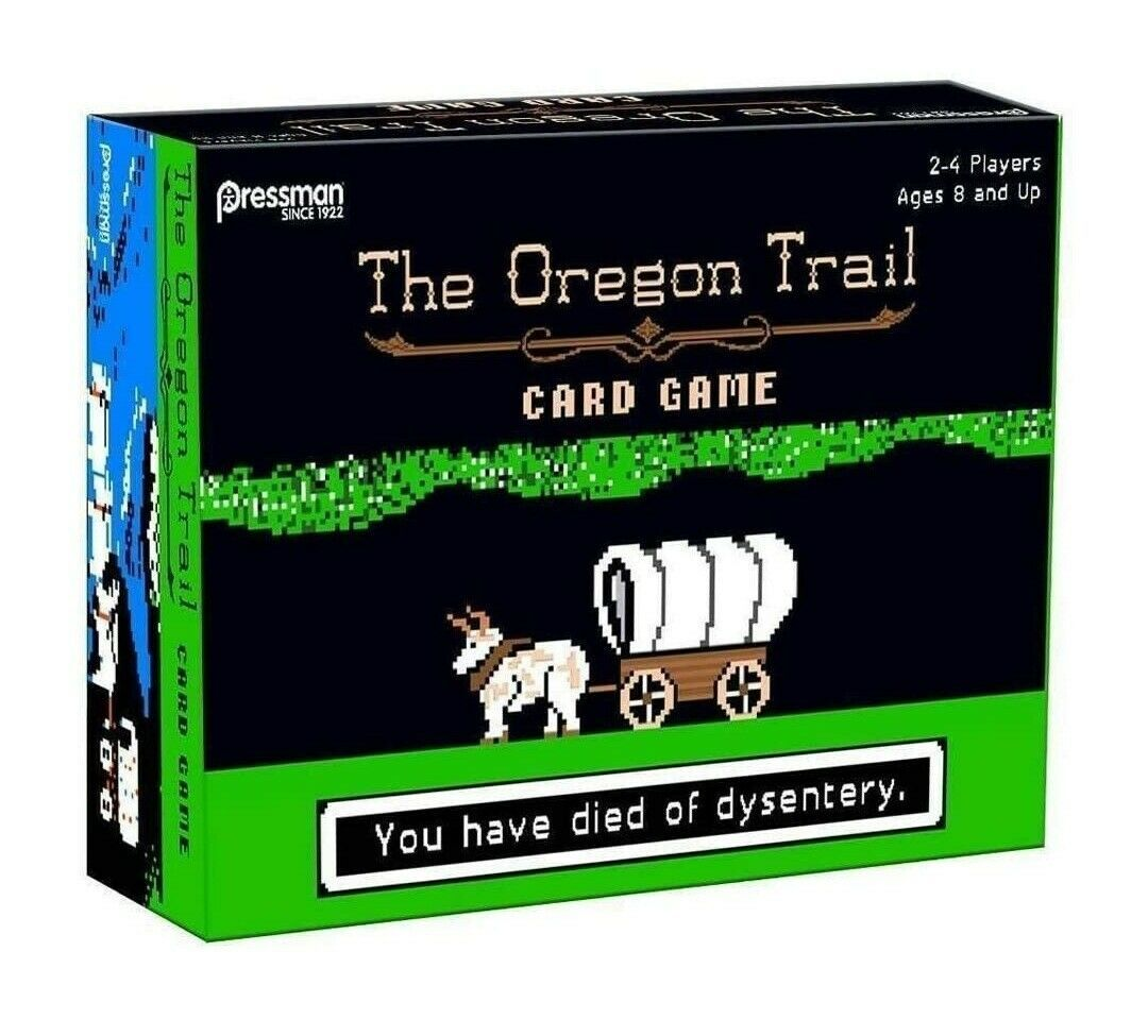 Primary image for NEW SEALED 2017 Pressman Oregon Trail Card Game Target Exclusive