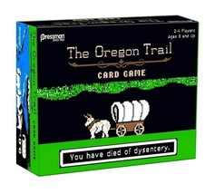 NEW SEALED 2017 Pressman Oregon Trail Card Game Target Exclusive  - $27.83