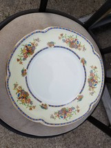 8  9  INCH  PLATES  in Victoria (Floral Basket) by Johnson Brothers - $41.68