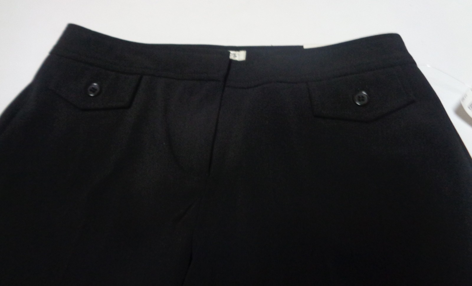 Harold's Alex Fashion Fit Black Flair Capri NWT SZ 2 MADE USA