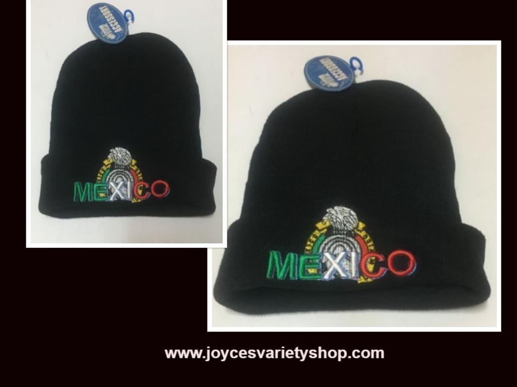 Mexico beanie web collage