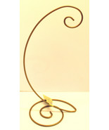 """Spiral BottomOrnament/Trinket Stands--Gold-11 1/4"""" Hanging Height-Holiday! - $11.57"""