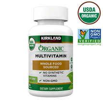 Kirkland Signature USDA Organic Multivitamin, 80 Coated - $25.70